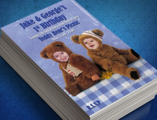 Teddy Bears Picnic | First Birthday Invites