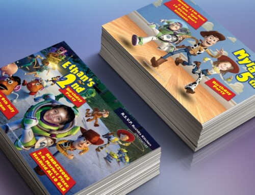 Toy Story Style Invites
