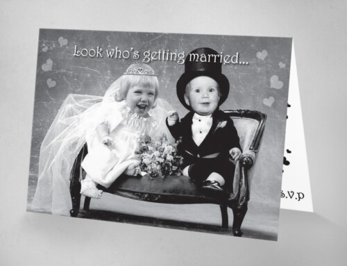 Baby Bride & Groom | Wedding Invitations