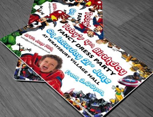 Kids Fancy Dress Party Invites