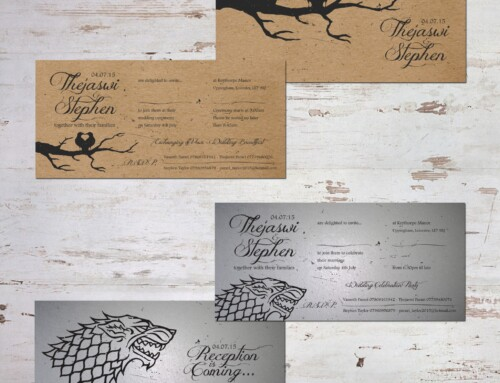 Game of Thrones | Wedding Invitations